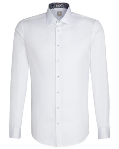 Business Hemd 'Custom Fit' weiß