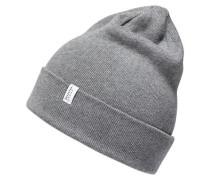 Klassische Mütze grau