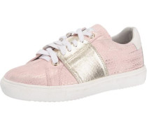 Kinder Sneakers gold / rosa / weiß
