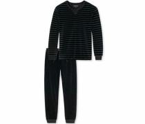 Pyjama schwarz