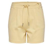 Shorts 'Poptrash' pastellgelb