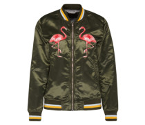 Bomberjacke 'Flamingo' khaki