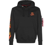 Sweatshirt 'X Hot Wheels Flame'