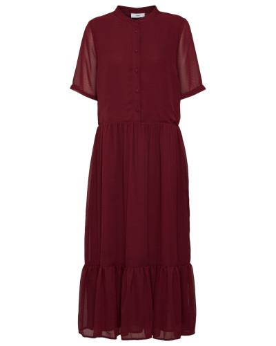 Kleid 'Margitte' merlot