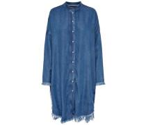 Derbes Langarmhemd blue denim