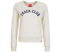 'Essentials Crew' Sweatshirt Damen weiß
