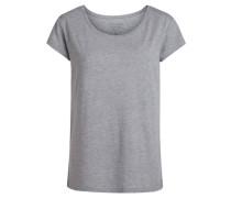 Basic T-Shirt grau