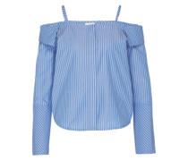 Bluse 'Joanna' blau / weiß