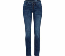 Slim-fit-Jeans dunkelblau