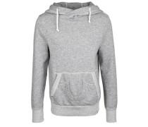 Kapuzensweatshirt 'hoody Contrast' grau
