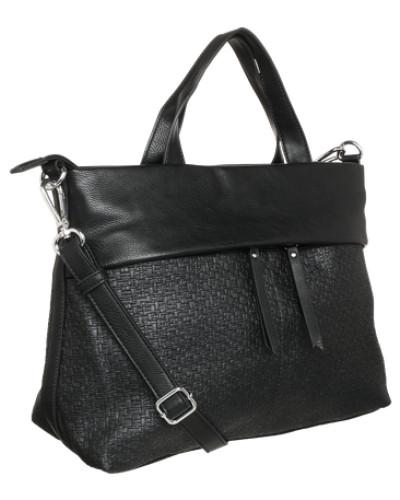 esprit damen esprit handtasche 39 fran 39 schwarz reduziert. Black Bedroom Furniture Sets. Home Design Ideas