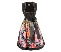 Dirndl mit Petticoat mischfarben