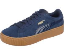 Platform Sneakers 'Vikky' blau