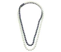 Perlenkette 'Black&White'