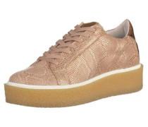 Sneaker 'Pampa' bronze / rosa