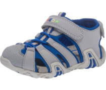 Sandalen dunkelblau / grau