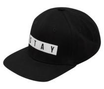 Cap Snapback- schwarz