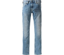 Jeans Slim Regular blue denim