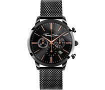 Chronograph »Eternal Rebel Chrono Wa0247« rosegold / schwarz