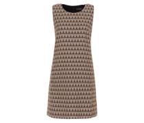 Jacquard-Kleid mischfarben