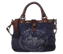 Handtasche mit Print blau