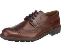 'Veit' Business Schuhe wasserdicht braun / kastanienbraun