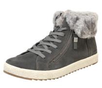 Gefütterter Sneaker High creme / hellgrau / dunkelgrau