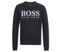 Sweatshirt 'Wallker' dunkelblau / weiß