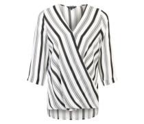Bluse 'Karena' schwarz / weiß