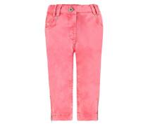 Steiff Collection Hose mit Teddybärförmigen Taschen Mädchen Kinder pink