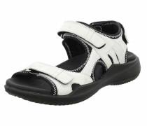 Sandale '288 Komfort' weiß / schwarz