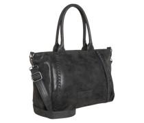 Handtasche 'Alva' schwarz