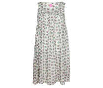 Kleid blau / pink / weiß