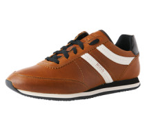 Sneaker aus Leder 'Adrenal_Runn_pp' braun / weiß