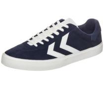 Diamant Suede Sneaker blau / weiß