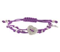 Armband Ubb12218 lila / silber