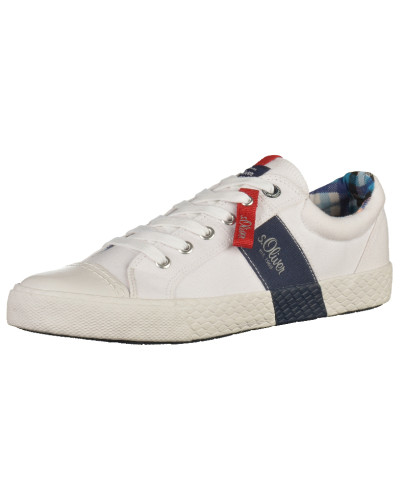 S.Oliver Herren Sneaker ultramarinblau / weiß