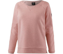 'stay FOR A While' Sweatshirt rosé