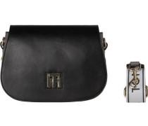 Handtaschen »TH Twist Saddle BAG Logo« schwarz