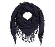 Schal mit Webmuster 'Masozi' blau