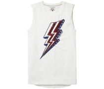 T-Shirt 'thdw CN Sequin T-Shirt S/L 34' weiß