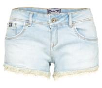 Shorts 'lace Trim' hellblau
