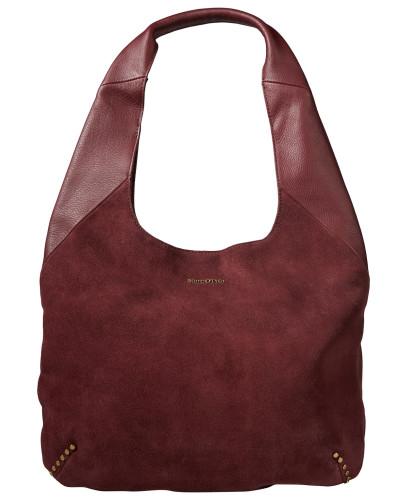 Hobo Bag himbeer / rubinrot