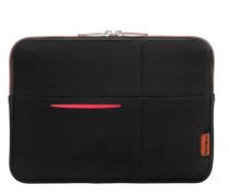 Airglow Sleeves Tablet Case Laptop-Hülle 215 cm rot / schwarz