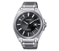 Armbanduhr 'bm6930-57E' schwarz / silber