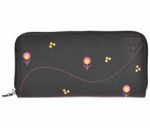 Spongy Geldbörse Leder 195 cm schwarz