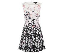 Kleid 'Poppy' mischfarben / weiß