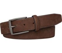 Gürtel »TH Nubuck Belt 3.5« braun