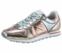 Sneaker hellblau / gold / rosé / silber