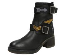 Boots im Bikersyle schwarz